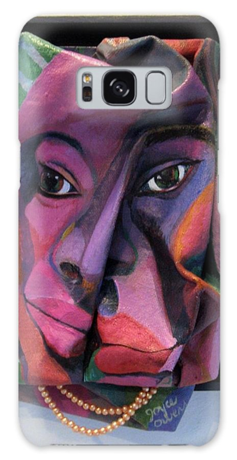 More Than Skin Deep Galaxy Case featuring the drawing More Than Skin Deep #2 by Joyce Owens