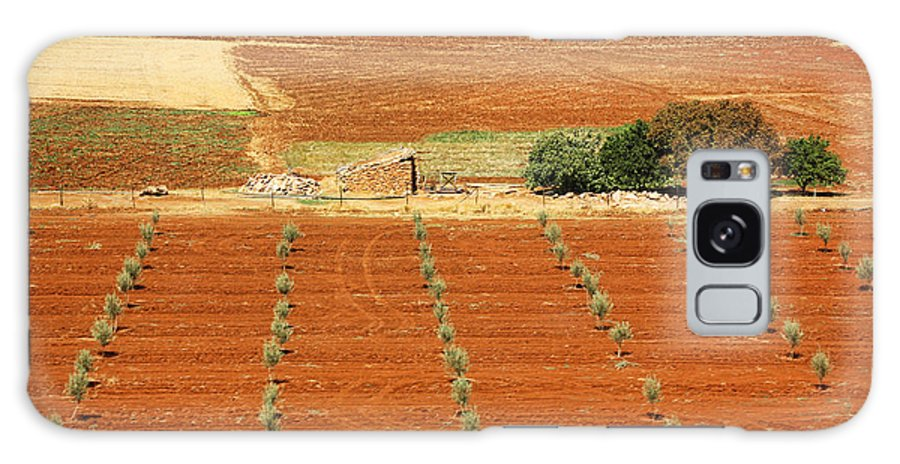 Morocco Galaxy S8 Case featuring the photograph Morocco Landscape I by Chuck Kuhn