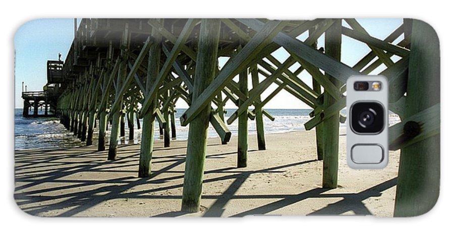 Myrtle Beach Pier Galaxy S8 Case featuring the photograph Myrtle Beach Pier by Allen Beatty