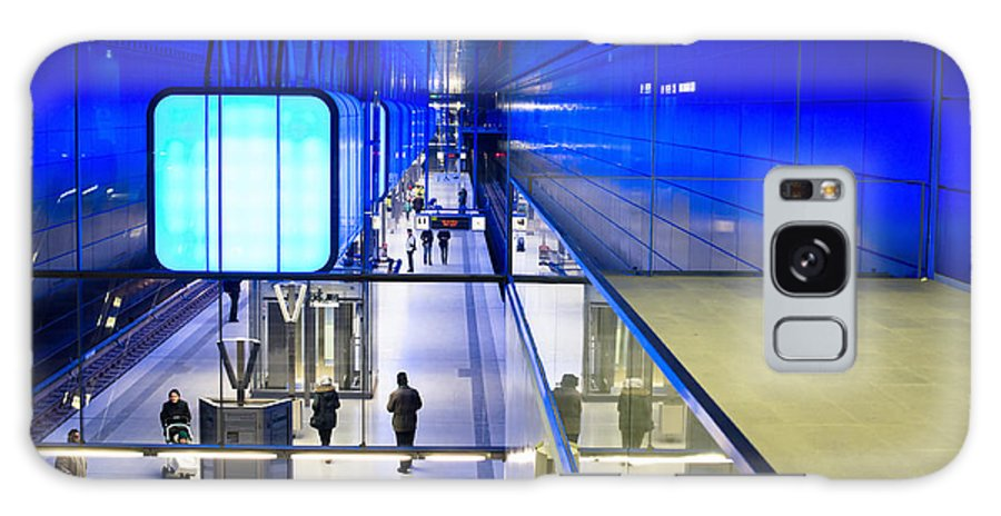 Hamburg Galaxy S8 Case featuring the photograph New Hafencity Station In Hamburg by Frank Gaertner