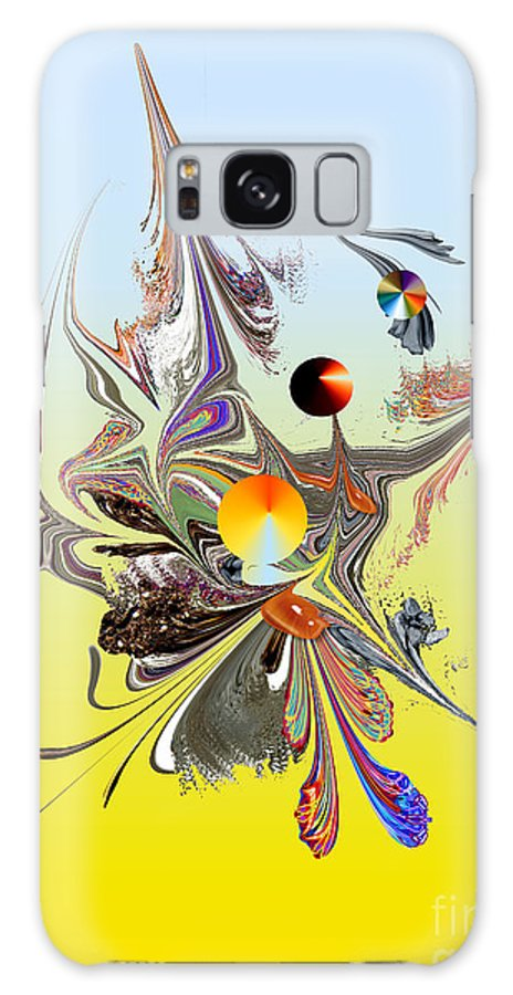 Galaxy S8 Case featuring the digital art No. 699 by John Grieder