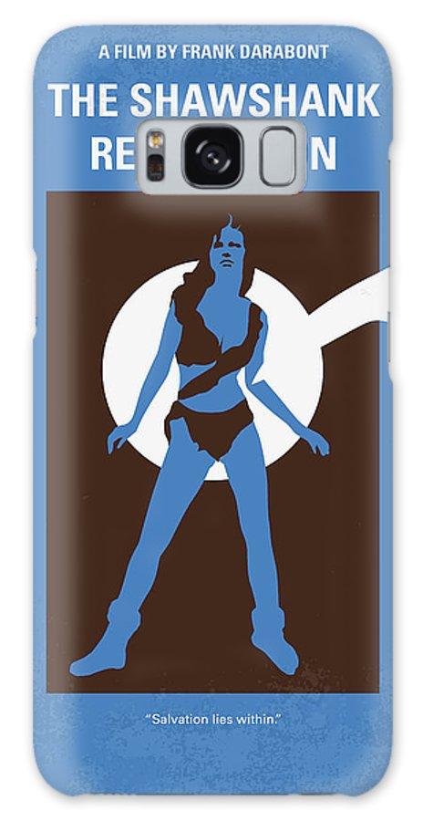 Shawshank Galaxy S8 Case featuring the digital art No246 My The Shawshank Redemption Minimal Movie Poster by Chungkong Art