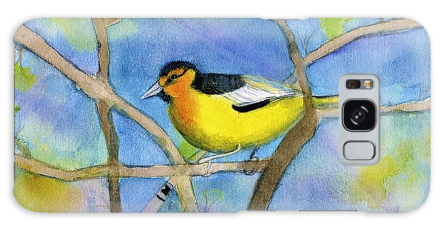 Northern Oriole Galaxy S8 Case featuring the painting Northern Oriole by Ann Michelle Swadener