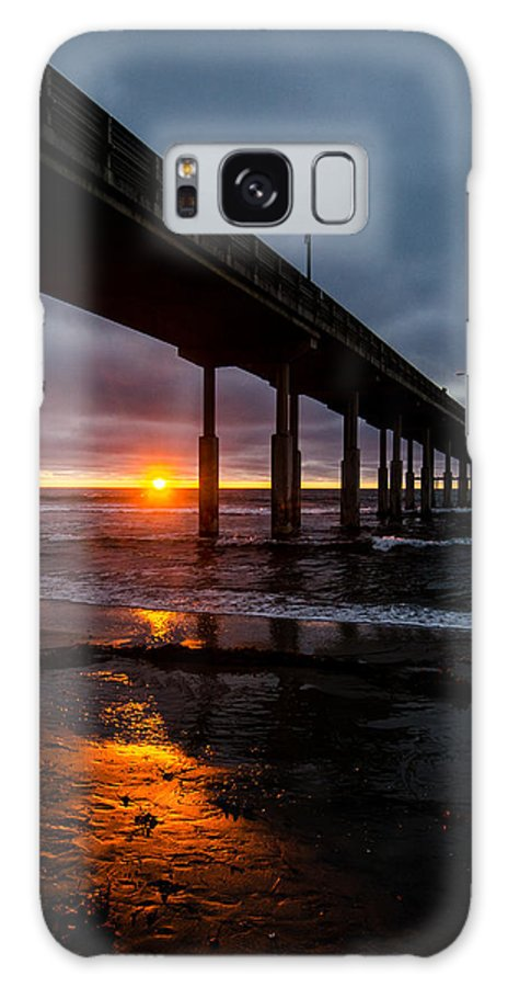 Ocean Galaxy S8 Case featuring the photograph Ocean Beach Pier 1 by William Murphy