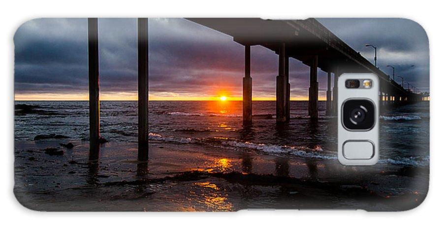 Ocean Galaxy S8 Case featuring the photograph Ocean Beach Pier 2 by William Murphy