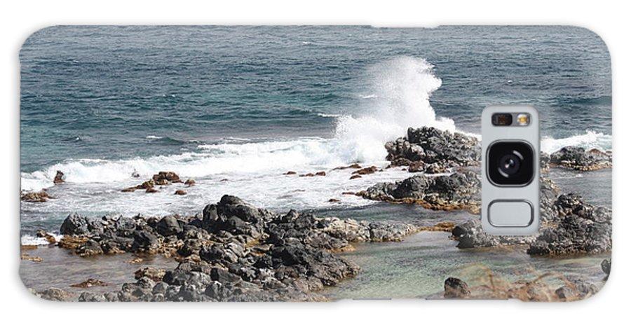 Ocean Galaxy S8 Case featuring the photograph Ocean Spray by Pamela Smith
