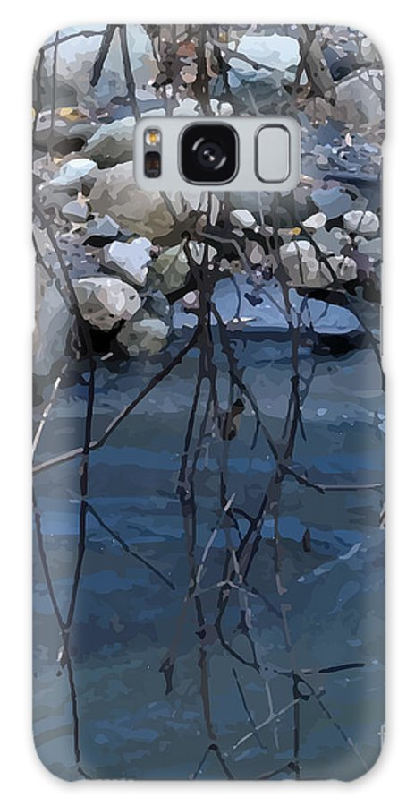 Galaxy S8 Case featuring the digital art Outside Dafoi Triagex3 Art 8 Of 9 by Ruth Benoit