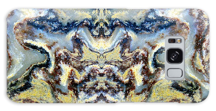 Abstract Galaxy S8 Case featuring the photograph Patterns In Stone - 84 by Paul W Faust - Impressions of Light