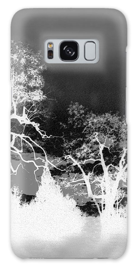 Landscape Galaxy S8 Case featuring the digital art Peaceful Late Evening 1 by Marjie Burnett
