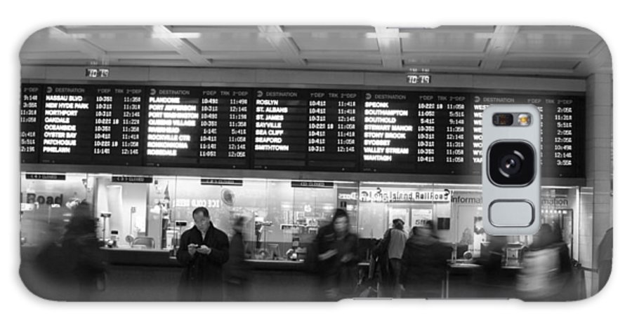Penn Station Galaxy S8 Case featuring the photograph Penn Station by Steven Macanka