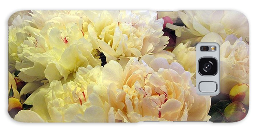 Flowers Galaxy S8 Case featuring the photograph Peonie by Jim Romo