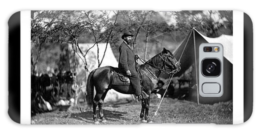 Allan Pinkerton Galaxy S8 Case featuring the photograph Pinkerton Man by David Call