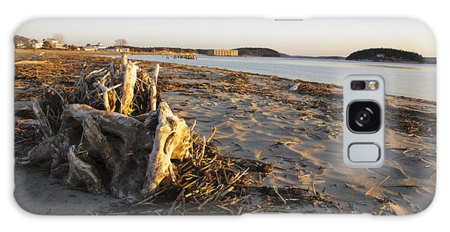 Atkins Bay Galaxy S8 Case featuring the photograph Popham Beach State Park - Phippsburg Maine Usa by Erin Paul Donovan