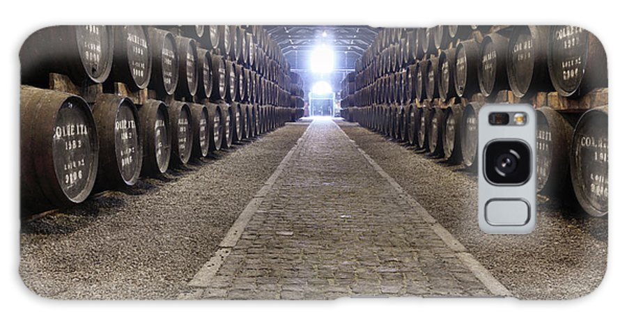 Fermenting Galaxy Case featuring the photograph Porto Wine Cellar by Vuk8691