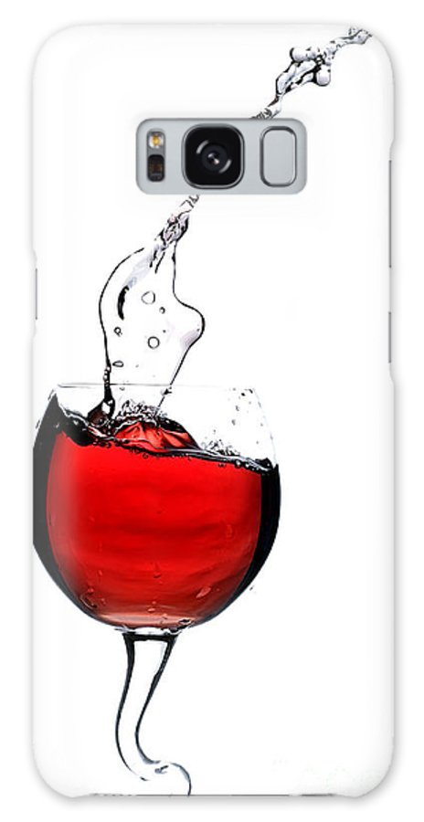 Bar Galaxy S8 Case featuring the photograph Red Wine by Andreas Berheide