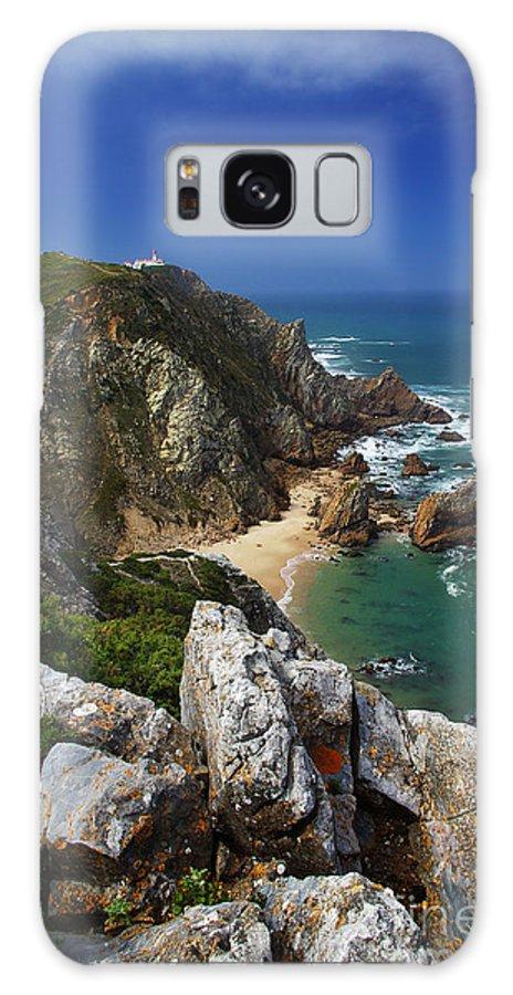 Beach Galaxy S8 Case featuring the photograph Roca Cape by Carlos Caetano