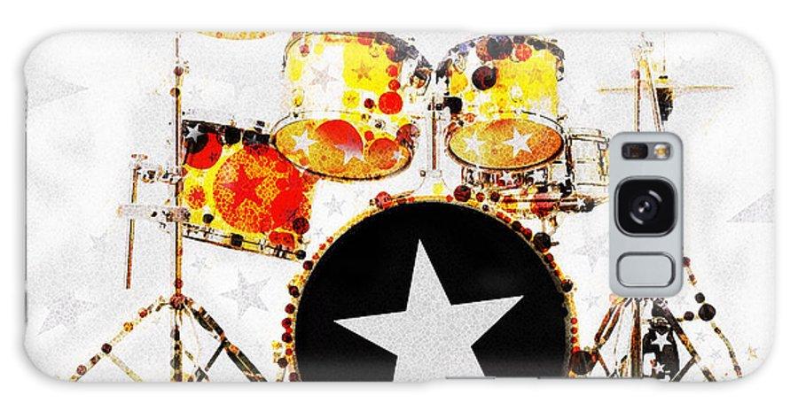 Rock Star Galaxy Case featuring the digital art Rock Star by Russell Pierce