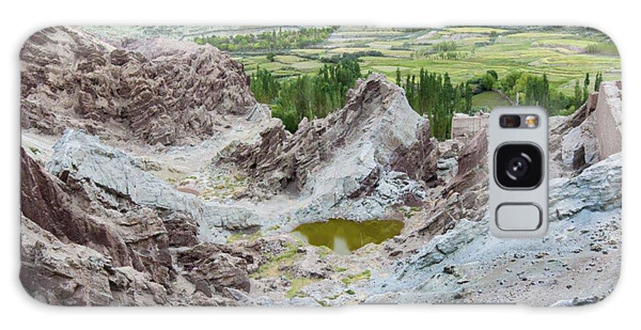 Ladakh Galaxy S8 Case featuring the photograph Ruins At Basgo Monastery Ladakh India by Rudra Narayan Mitra