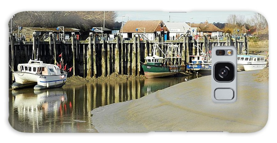 Rye Galaxy S8 Case featuring the photograph Sandbanks And Boats by Sharon Lisa Clarke