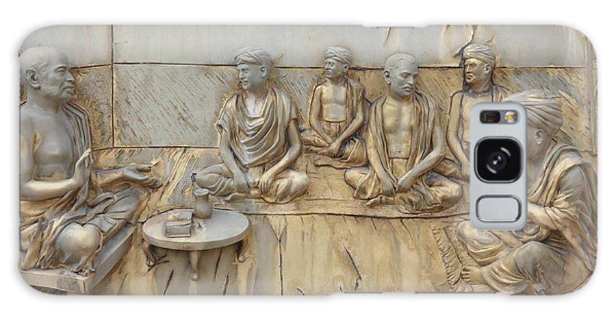 Sculptures Galaxy S8 Case featuring the sculpture Sculptures by Nirav Patel