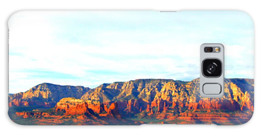 Sedona Galaxy S8 Case featuring the photograph Sedona Sunset by Tina Meador