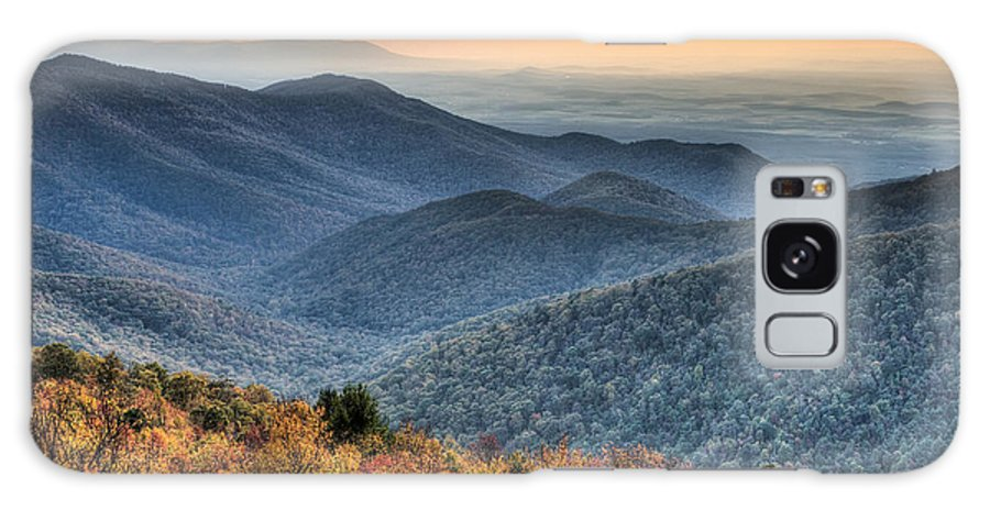 Shenandoah Galaxy S8 Case featuring the photograph Shenandoah National Park Sunset by Pierre Leclerc Photography