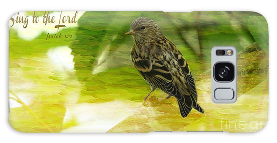 Bird Galaxy S8 Case featuring the photograph Sing To The Lord by Beverly Guilliams