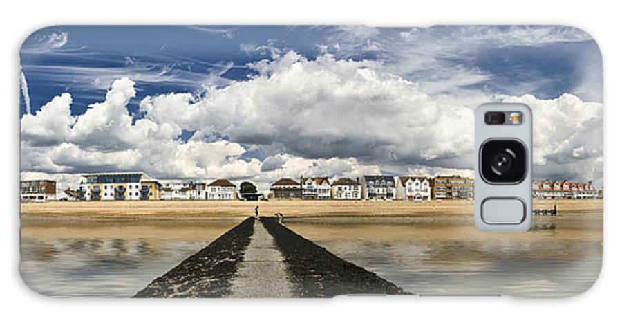 Southend On Sea Galaxy Case featuring the photograph Southend on Sea Panorama by Sheila Smart Fine Art Photography