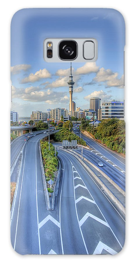 Auckland City Galaxy S8 Case featuring the photograph Spaghetti Junction by Dave McGregor
