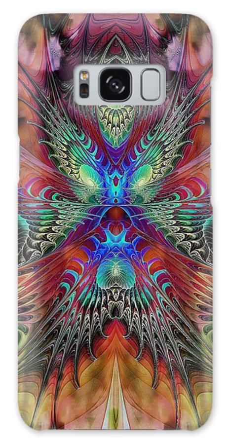 Digital Art Galaxy S8 Case featuring the digital art Starburst by Amanda Moore