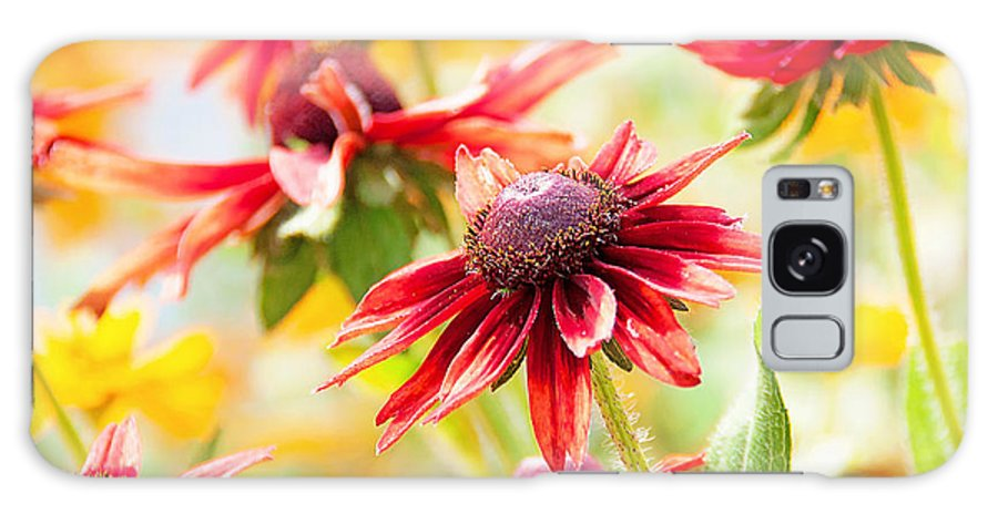 Flowers Galaxy S8 Case featuring the photograph Summer Soltice by Deb Buchanan
