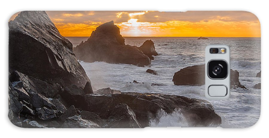Patrick's Point State Park Galaxy S8 Case featuring the photograph Sun Sets On Patrick's Point by Greg Nyquist