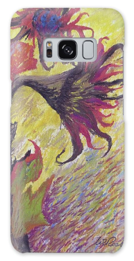 Sunflower Galaxy S8 Case featuring the painting Sunflower by Randy Ross