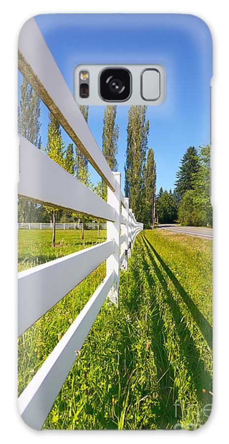 King County Galaxy S8 Case featuring the photograph Sunny Pasture by Jo Ann Snover
