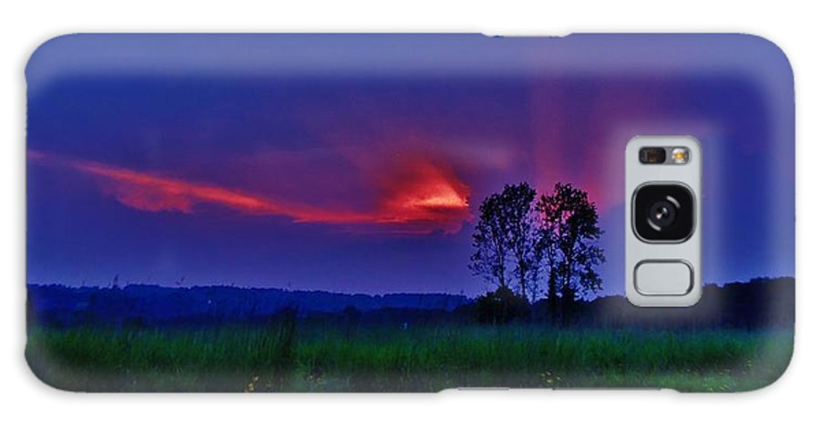 Landscape Galaxy S8 Case featuring the photograph Sunset by Greg Kear