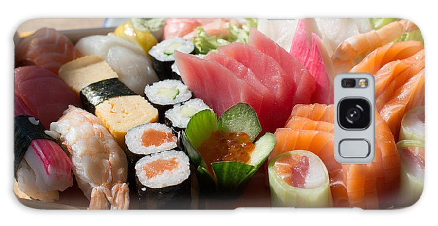 Fish Galaxy S8 Case featuring the photograph Sushi And Sashimi by Frank Gaertner