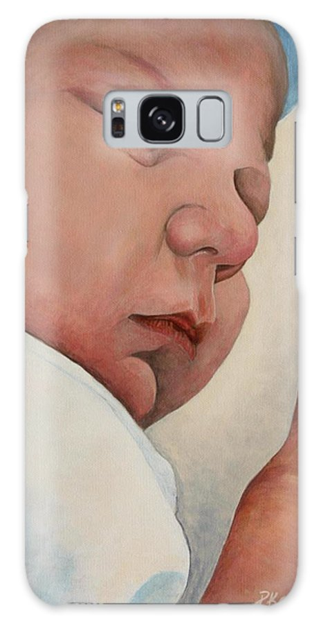 Baby Galaxy S8 Case featuring the painting Sweet Dreams by Pam Kaur
