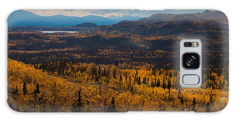 Adventure Galaxy S8 Case featuring the photograph Taiga In Fall by Stephan Pietzko