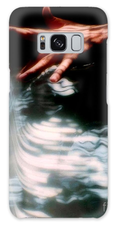Aqua Galaxy S8 Case featuring the photograph Testing The Water by Michael Hoard