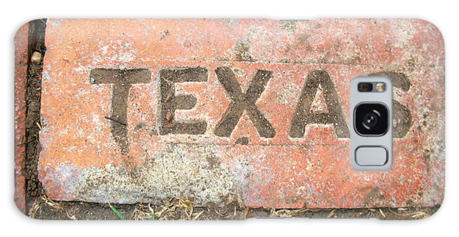 Texas Galaxy S8 Case featuring the photograph Texas Brick by K Marie