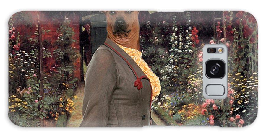 Thai Ridgeback Galaxy S8 Case featuring the painting Thai Ridgeback Art Canvas Print by Sandra Sij
