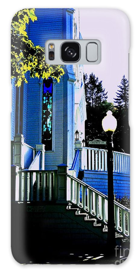 Church Steps Galaxy S8 Case featuring the photograph The Church Steps by Desiree Paquette