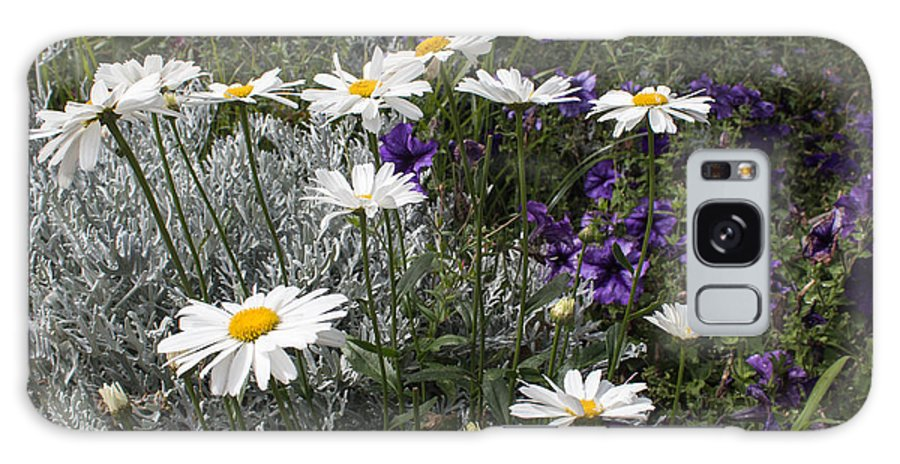 Florals Galaxy S8 Case featuring the photograph The Garden by Arlene Carmel