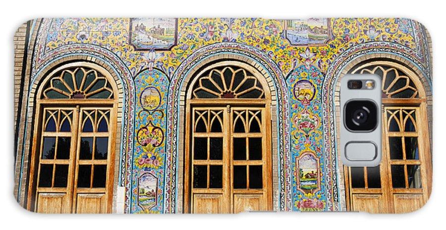 Iran Galaxy S8 Case featuring the photograph The Golestan Palace In Tehran Iran by Robert Preston