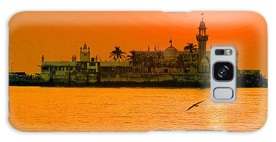 The Haji Ali Dargah Galaxy S8 Case featuring the photograph The Haji Ali Dargah by Paul Fearn