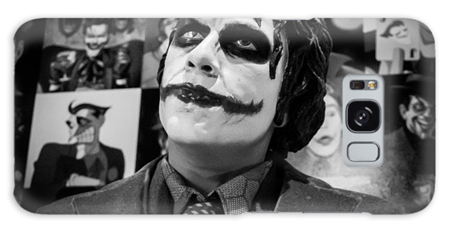 The Joker Galaxy S8 Case featuring the photograph The Joker by Ismael Roman
