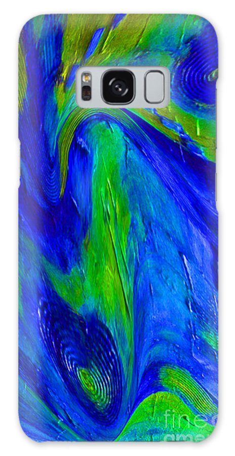 Living Room Galaxy S8 Case featuring the ceramic art The Way by Gabriele Mueller