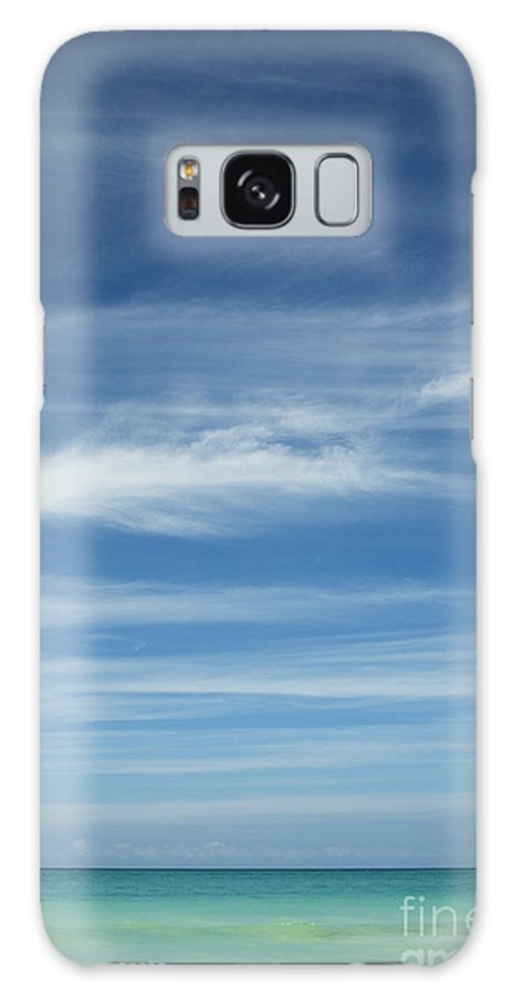 Hawaii Galaxy S8 Case featuring the photograph Tropical Ocean And Sky by Charmian Vistaunet