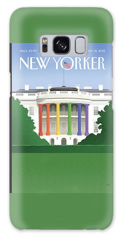 President Galaxy Case featuring the painting Spectrum Of Light by Bob Staake