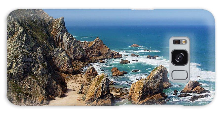 Beach Galaxy S8 Case featuring the photograph Ursa Beach by Carlos Caetano
